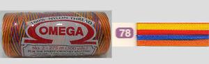 Omega Hilo 100% Nylon Crochet Thread Yarn Size No. 2 - Nylon Thread Colors 78-88