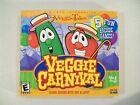 Veggie Tales Veggie Carnival Pc Cd Rom Computer Game 5 Arcade Games