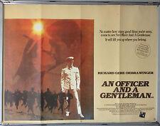 Cinema Poster: AN OFFICER AND A GENTLEMAN 1982 (Quad) Richard Gere Debra Winger