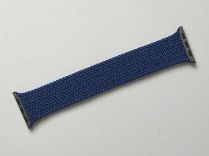 Genuine Apple Watch BRAIDED Solo Loop ATLANTIC BLUE 40mm Size 8