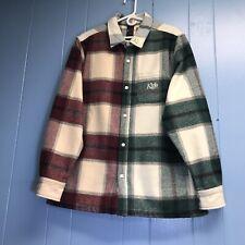 Kith Flannel Jacket Sz Large USED