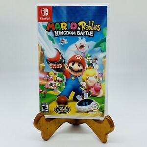 Mario + Rabbids Kingdom Battle Nintendo Switch Video Game New Factory Sealed