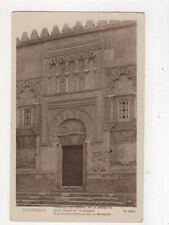 Cordoba Fachada Occidental de la Mezquita Vintage RP Postcard Spain 723a