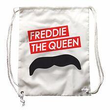 Sac à dos Freddie La Reine, image amusante Mercury avec moustache, musique Rock