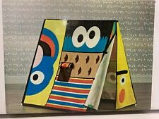 Sesame Street Playhouse  - Crate and Barrel - Tent (Discontinued) -Free Shipping