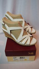 Sofft Sandals Size 8 Ilene Womens Wedge Shoes White 1272404 Macy's