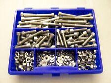 Sortiment Zylinderkopfschrauben DIN 912, V2A rostfrei, M6, 325-teilig