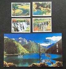 China PRC 1998-6 SC#2850-54 Nine Village Valley ( JiuZhaigou ) Stamp SS Full Set