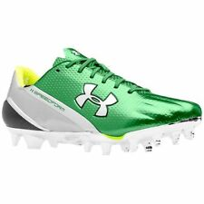 New Under Armour Speedform Football Cleats Men's 16 M Chrome Green Shoes