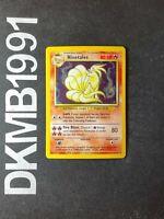 Ninetales 12/102 Holo Rare Pokemon Card Unlimited Base Set WOTC