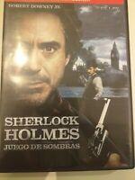 Dvd  SHERLOCK HOLMES juegos y sombras con robert downey jr ..   coleccionistas