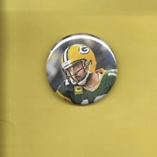 "Aaron Rodgers Green Bay Packers 2"" Football Button #1"