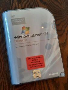 Open Box - P72-02906 Microsoft Windows Server 2008 Enterprise 25 CAL