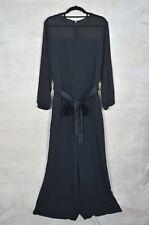 "MARELLA Art 365 Black ""MASTINO"" jumpsuit, flared leg, UK 16"