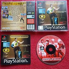 FIGHTER MAKER ORIGINAL BLACK LABEL SONY PLAYSTATION PS1 PS2 PAL