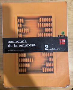 Economía. 2 Bachillerato. Savia