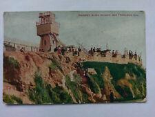 San Francisco USA Vintage colour Postcard 1907 Parapet, Sutro Heights