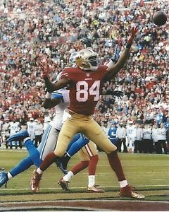 RANDY MOSS 8X10 PHOTO SAN FRANCISCO FORTY NINERS 49ers  PICTURE NFL FOOTBALL