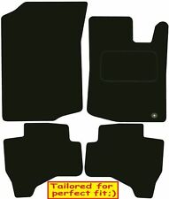 Tailored Deluxe Quality Car Mats Peugeot 107 2005-2016 ** Black **