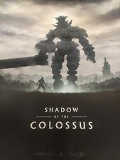 PSX Shadow Of The Colossus 18x24 Poster PS4 Playstation Ico Japan Studio