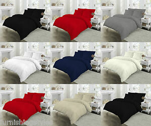 200 THREAD COUNT EGYPTIAN COTTON BEDDING 7 COLOURS ALL SIZES