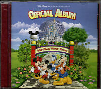 "WALT DISNEY RECORDS..""THE OFFICIAL ALBUM OF WALT DISNEY WORLD""...HTF SOUVENIR CD"