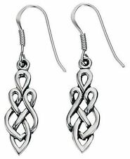 Celtic Jewellery Women Silver Earrings
