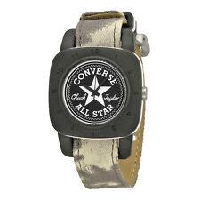 Converse Premium Black Dial White Canvas Unisex Watch VR-029-100
