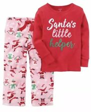 49ccb3a20 Carter s Santa Claus Pajama Sets Sleepwear (Sizes 4   Up) for Girls ...