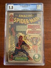 Amazing Spider-Man #15 CGC 1.5 (Marvel Comics 1964) 1st appearance of KRAVEN