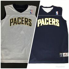 NBA Indiana Pacers #15 Reversible Alleson Jersey Youth M 10/12 Blue & White
