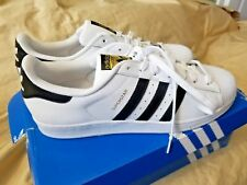 Adidas original  Superstar white mens  sneakers size 13