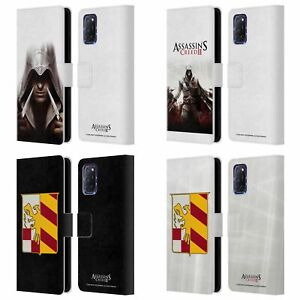 OFFICIAL ASSASSIN'S CREED II KEY ART LEATHER BOOK WALLET CASE FOR OPPO PHONES