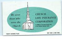*1950s Church Life Insurance Corporation New York NY Vintage Postcard C48