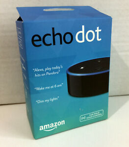 Amazon Echo Dot 2nd Generation w/ Alexa Voice Media Device - BRAND NEW!!!