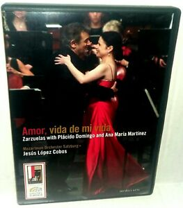 Placido Domingo Amor vida de mi vida DVD 2007 Opera Medici Arts 2072478