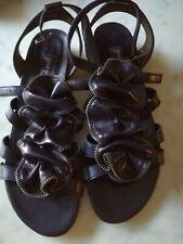 Damen, sandalen, Paul Green, absolut neu, Gr. 8 oder 40, echtes Leder, schwarz.