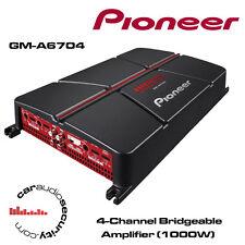 PIONEER gm-a6704 - a 4 canali bridgeable AMPLIFICATORE 1000W Altoparlanti o Sub AMP NUOVO