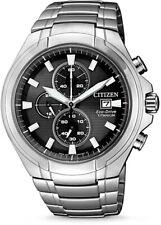 Citizen Eco-Drive Super Titanium Chronograph Mens Watch CA0700-86E
