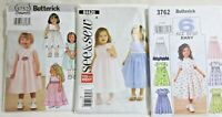 Lot of 3 Cut Childrens Sewing Patterns Sizes 1-4 (See Photos)