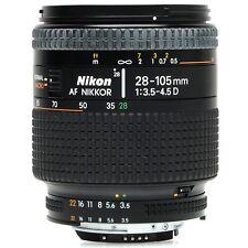 Nikon AF 28-105mm f3.5-4.5 D Zoom Lens