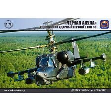 ARK MODELS 72040 KAMOV KA-50 -BLACK SHARK RUSSIAN ATTACK HELICOPTER (THE KIT INC