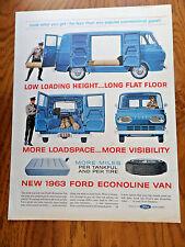 1963 Ford Econoline Van Ad