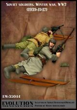 1/35 Scale Resin kit Soviet soldiers WW2 (1939-1942)