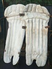 Vintage Jack Hobbs Ltd Cricket Pads - Match worn