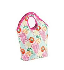 PT Beach Bag Indian Summer Flowers PT1339FL Holiday Travel Shopping Picnic Lunch