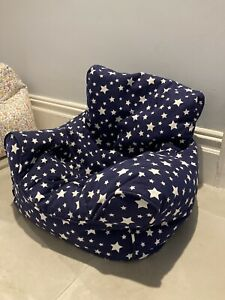 JoJo Maman Bebe Childrens Floral Bean Bag Chairs - Girls