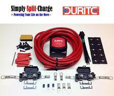 Durite Split Charge Kit 0-727-33 12v 140amp Relay 110amp 16mm² Cable (3mtr Kit)