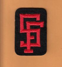 OLD 1960s SAN FRANCISCO GIANTS 3 inch UNIFORM SLEEVE HAT CAP PATCH UNSOLD STOCK