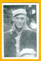 Baseball Postcard of Walt Tragresser